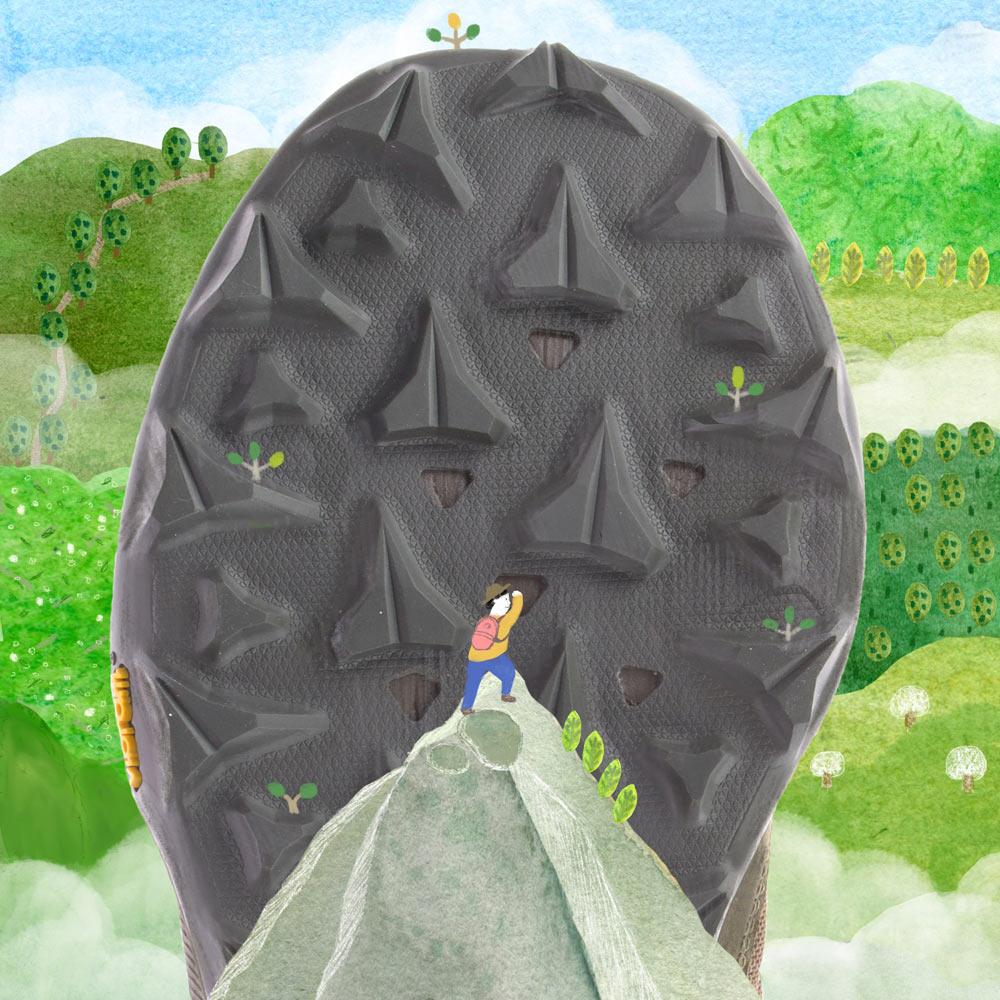 山系迷注意!MerrellX山界12強推出的新春遊玩插畫必須收-山林踩點照著走就對啦