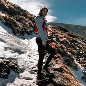克服高山症 雷理莎挑戰3886公尺一日單攻雪山
