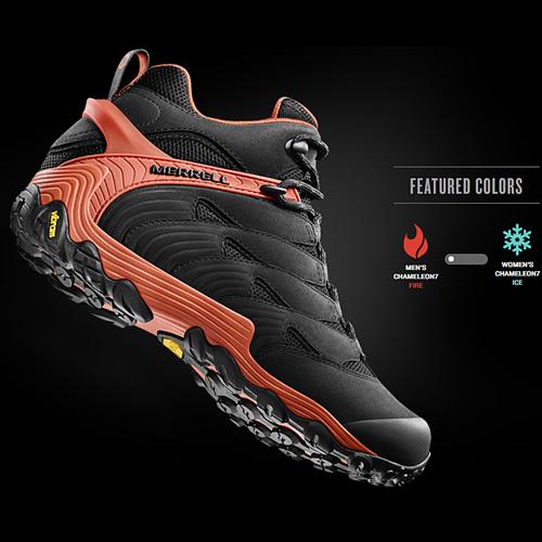 CHAMELEON 7登山鞋新革命  羽量級的鞋身x重量級的保護